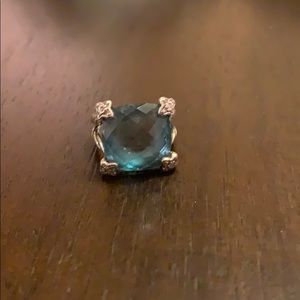 David Yurman Hampton Blue Topaz Ring